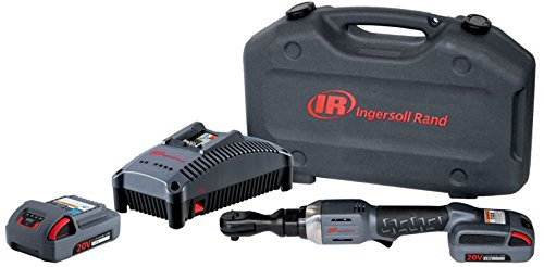Ingersoll Rand R3130-K22 Cordless Ratchet with 2 Li-on Batteries, Charger and Case, - Rand Case Ingersoll