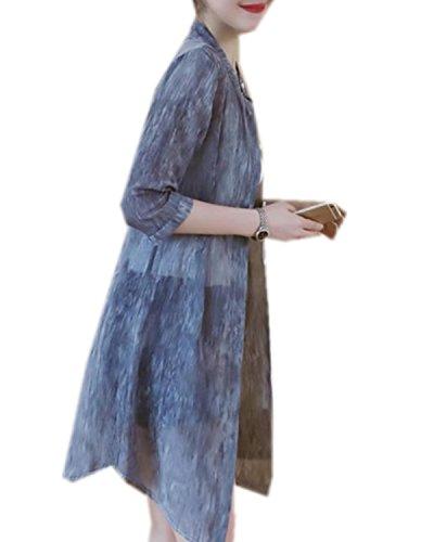 ININUK レディース ファッション 半袖  カーディガン 春 夏 ロング UVカット エレガント ショール エレガント スリム 薄手 柔らか 紫外線 日焼け 冷房 対策 ビーチコート 通勤 通学 水着