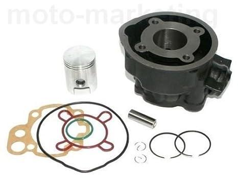 Unbranded 50 CCM Zylinder KOLBEN KIT Set KOMPLETT f/ür Peugeot JETFORCE TSDI Injection 2T Zylinderkit
