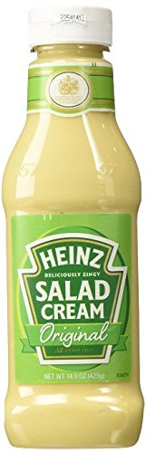 Heinz Cream (Heinz Salad Cream Squeezy , 425 Grams,(4 Pack))