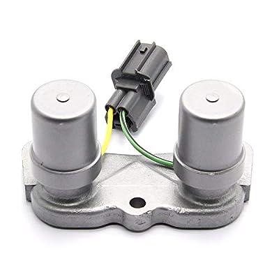 28300-P24-J01 Transmission Shift Lockup Control Solenoid Valve For 1991-01 Honda Civic 1993-97 Honda Del Sol 1994-00 ACURA INTEGRA 1997-01 Honda CRV 28320P24J01: Automotive