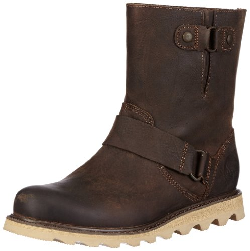 Sorel SCOTIA - Botas biker, color: negro marrón - Braun (Dark Brown, Mountain 202)