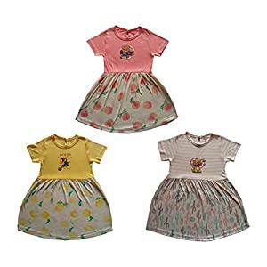 RAMOLA Baby Girls' Knee Length...