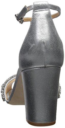 Silver Sandal Heeled Badgley Mischka Hines Women's xXawc8Z4