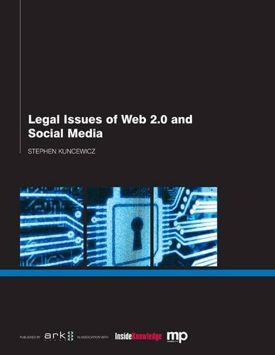 Legal Issues of Web 2.0 and Social Media