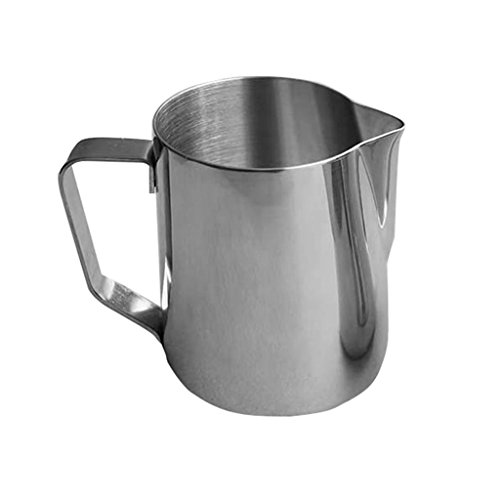 Honeyhome Japanese Style 150ML Thick Stainless Steel Milk Frothing Jug Garland Cup by Honeyhome