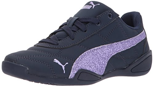 PUMA Girls' Tune Cat 3 Glam Sneaker Peacoat-Purple Rose 11 M US Little Kid