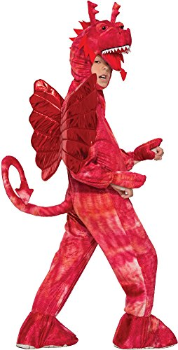 Forum Novelties Kids Red Dragon Costume, Red, Small ()