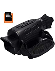 """Night Vision Scope Monocular Camcorder HD Digital Infrared Hunting Monocular Scope 1M Picture & 960P Video and 1.5"""" TFT Inner Screen IR Camera in 300m for Wildlife Observe"""