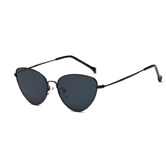 1b07c041bb QUICKLYLY Gafas De Sol Para Hombre/Mujer Polarizadas Verano Vintage Retro  Cat Eye Gafas De Sol Unisex: Amazon.es: Ropa y accesorios