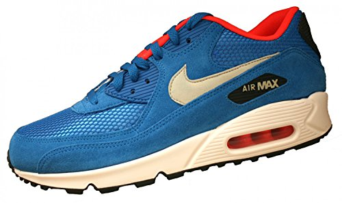 Nike Air Max 90 Essential Schuhe dark electric blue-light stone-anthracite - 40,5