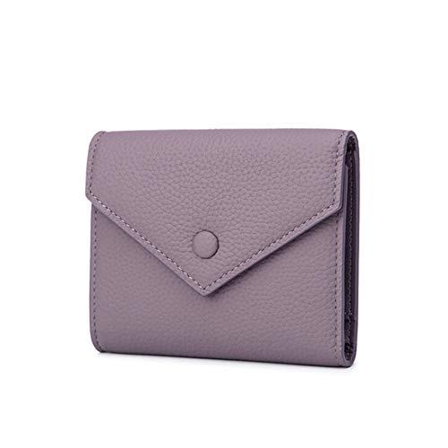 color A Portamonete Olprkgdg Corto Portafoglio Donna Purple Elegante Per Rosa Purple S8Bxfq6w