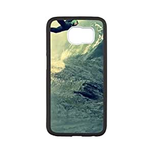 Base Jumping Samsung Galaxy S6 Cell Phone Case Black 91INA91609922