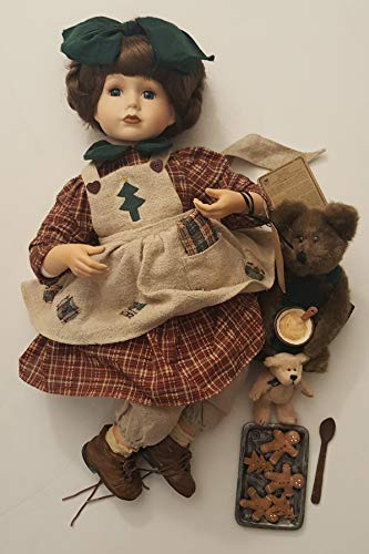 Boyd's Collectible Christmas Doll with Two Bears from Boyd's