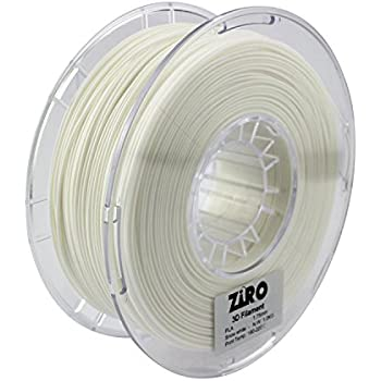 Amazon Com Ziro 3d Printer Filament Pla 1 75 1kg 2 2lbs