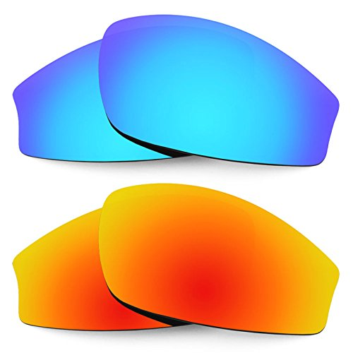 Revant Replacement Lenses for Wiley X Jake 2 Pair Combo Pack K002