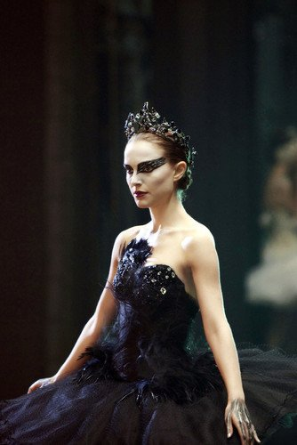 Images Costumes (Natalie Portman Black Swan Dramatic Image Off Shoulder Costume 24x36 Poster)