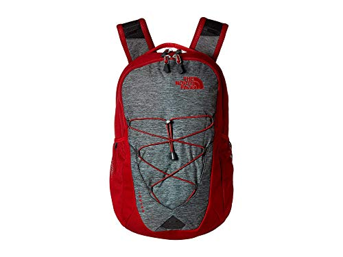 The North Face Unisex Jester Backpack Tnf Dark Grey Heather/Cardinal Red One Size ()
