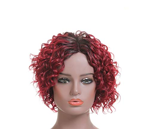 Rinboool Deep Invisible Short Curly L part Lace