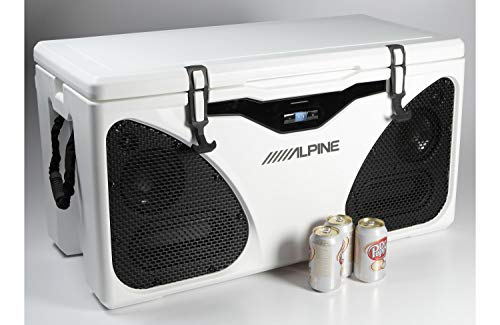 Alpine Electronics Ice (in-Cooler Entertainment) System, White, One Size by Alpine (Image #4)