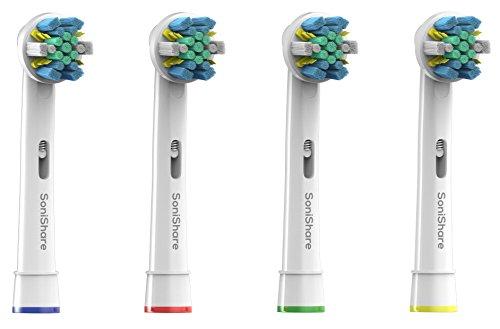 Têtes de brosse à dents Premium Oral-B Floss Action remplacement génériques (4)