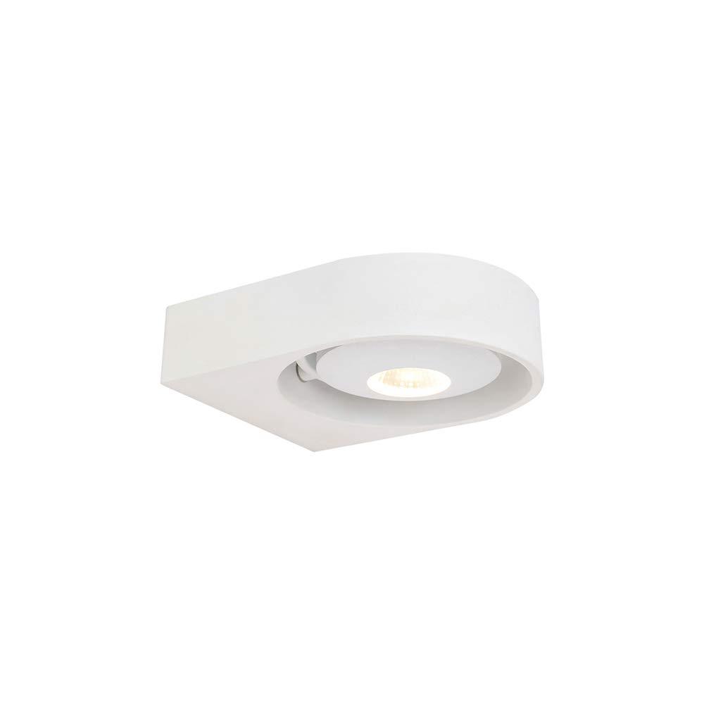 BETLING Led Wandleuchte Wandlampe, 1-flammig Wandbeleuchtung,dreh- und schwenkbar Wandstrahler, Wandspot Flurlampe, mit Cree Chip 10W Warmweiß Dimmbar für Wohnzimmer Treppenhaus Heim Büro