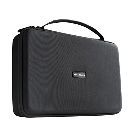 Bose Soundlink 3 Bluetooth Portable Wireless Speaker III Hard Case Travel Bag - Fits the Wall Charger and Fits with the Bose SoundLink III Cover. By Caseling