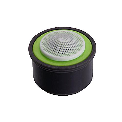 Neoperl 10 2350 5 PCA Spray Ultra Low Flow Insert, Regular with Washer, 0.5 GPM, Lime Green/White Dome, Spray Stream, Acetal