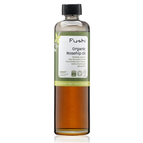 Fushi Rosehip Seed Organic Oil 100ml Extra Virgin, Biodynamic Harvested...