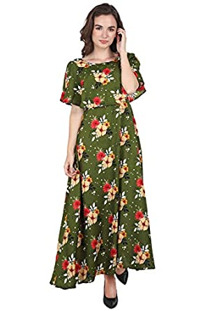 Lucy Women's Peplum Maxi Dress