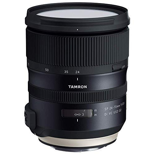 Tamron SP 24-70mm f/2.8 Di VC USD G2 Lens for Canon Mount (AFA032C-700) (Renewed) (Best 24 70 For Canon)