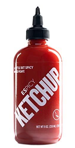 ESPICY Ketchup 250ML – 280 GR | Ketchup con un toque picante | Combinada con ESPICY | Gluten free | Apta para veganos