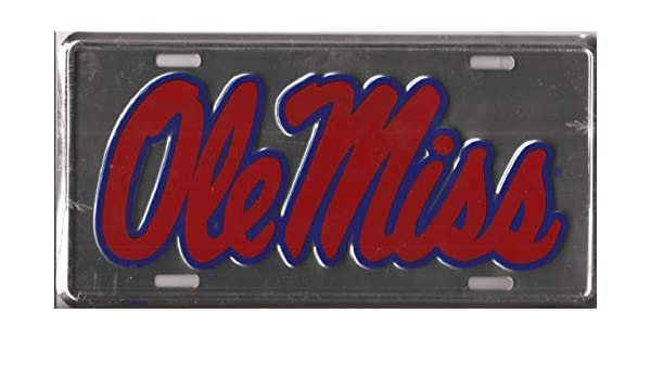 WinCraft Mississippi University of S02501 Acrylic Classic License Plates