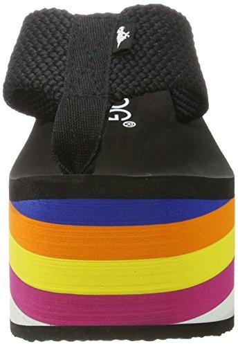 Big Top Mujer rainbow Dog A00 Chanclas Rocket Negro Black Para 5gqAwnE