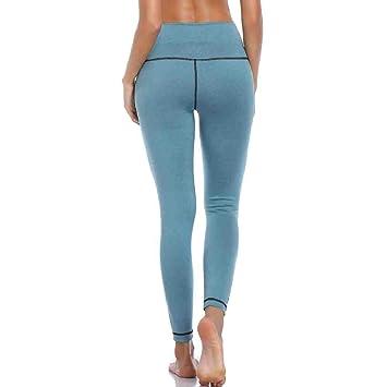 ZIJS Pantalones de Yoga Leggings de Fitness Pantalones de ...