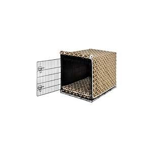 Amazon.com : Luxury Dog Crate Cover II Color: Cedar