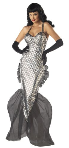 Sexy Submariner Bettie Page Mermaid Costume - Womens 6-8