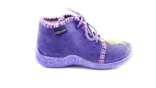 Rohde Kinder Hausschuhe KIDDIE 2114, violett 58, EU