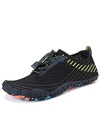 MAYZERO Water Shoes Men Women Quick Drying Swim Surf Beach Pool Shoes Wide Toe Hiking Barefoot Aqua Shoes Summer Outdoor Sports Shoes