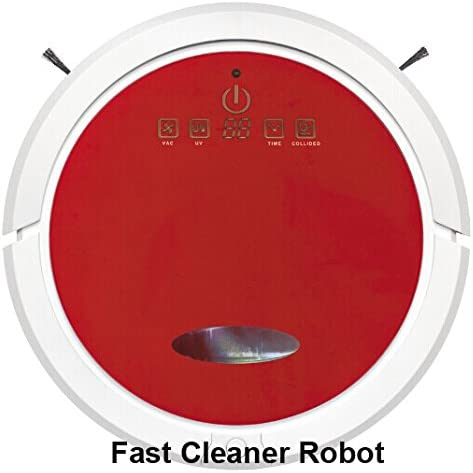 JJYJQR Robot Aspirador Wifi Smartphone App Control Tanque De Agua ...