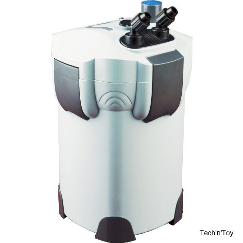 Tech'n'Toy SunSun HW-403B 370 GPH 4-Stage External Canister Filter with 9W UV Sterilizer by Tech'n'Toy