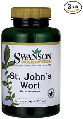 Swanson Premium St. John s Wort 375 mg 120 Caps 3