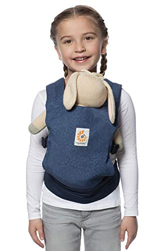 Ergobaby Original Baby Doll Carrier, Blue Blooms