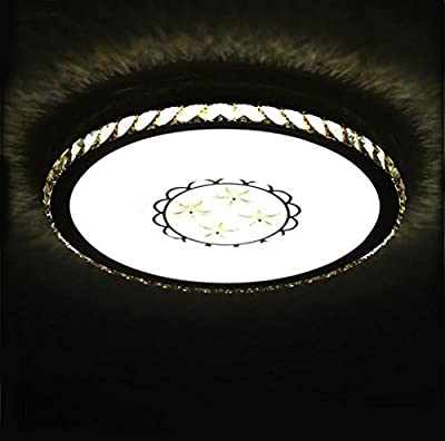Jingzou Fashion art bedroom ceiling warm romantic creative personality study modern simple led living room 337CM 16W