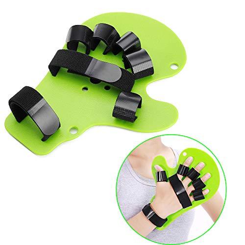- Finger Separator Resting Splint Neuropathy Brace Stroke Rehabilitation Parkinsons Devices Extension Hand Wrist Orthotics Training Board Hemiplegia Traumatic Brain Injury (Fit Right or Left Hand)