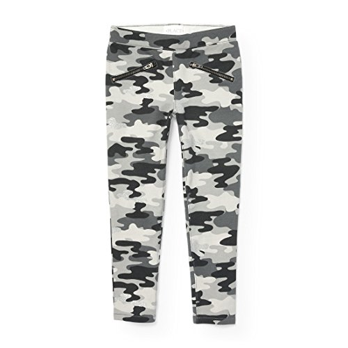 The Children's Place Girls Camoflauge Knit Jegging, Storm 90829, 4 by The Children's Place (Image #1)
