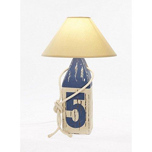 Lámpara de sobremesa estilo marinero. Boya náutica Azul 5 ...