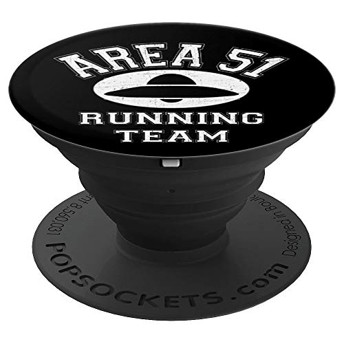 Area 51 Running Team - Storm Area 51 Runner - Flying Saucer PopSockets Grip and Stand for Phones and Tablets
