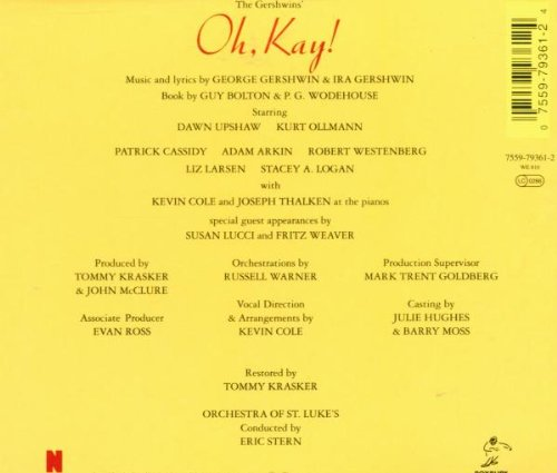 Oh, Kay!  (1994 Studio Recording) by Nonesuch