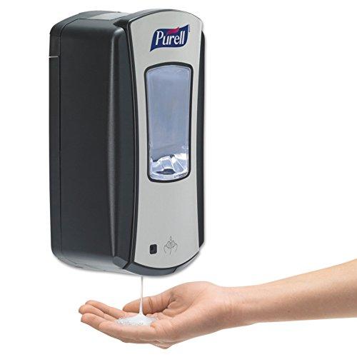PURELL 1928-04 LTX-12 Touch-Free Hand Sanitizer Dispenser – Black, Dispenser for PURELL LTX-12 1200mL Refills by Purell (Image #9)